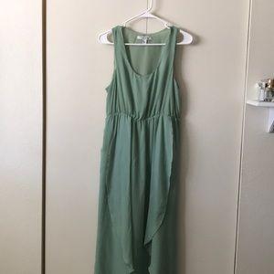 Mint green Maxi Dress